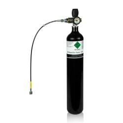 Botella 3 litros PCP 300 bares. Kit completo