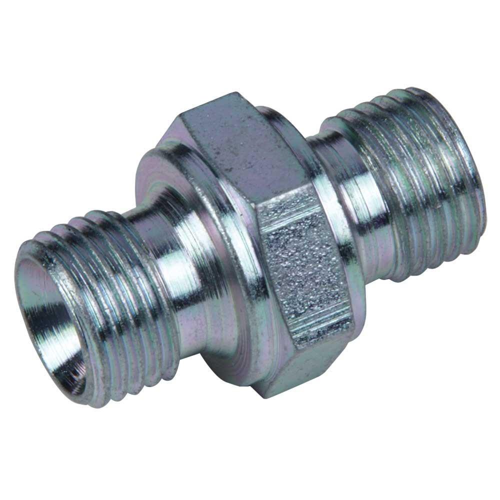 Adaptador 1/4 BSP macho - 1/4 macho (60º cono interior)