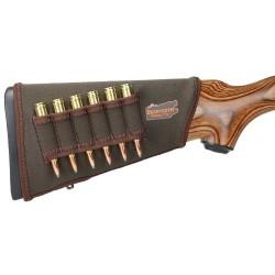 Carrillera con canana para rifle