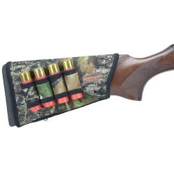 Carrillera con canana para escopeta