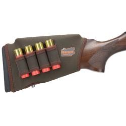 Carrillera ajustable con canana para escopeta