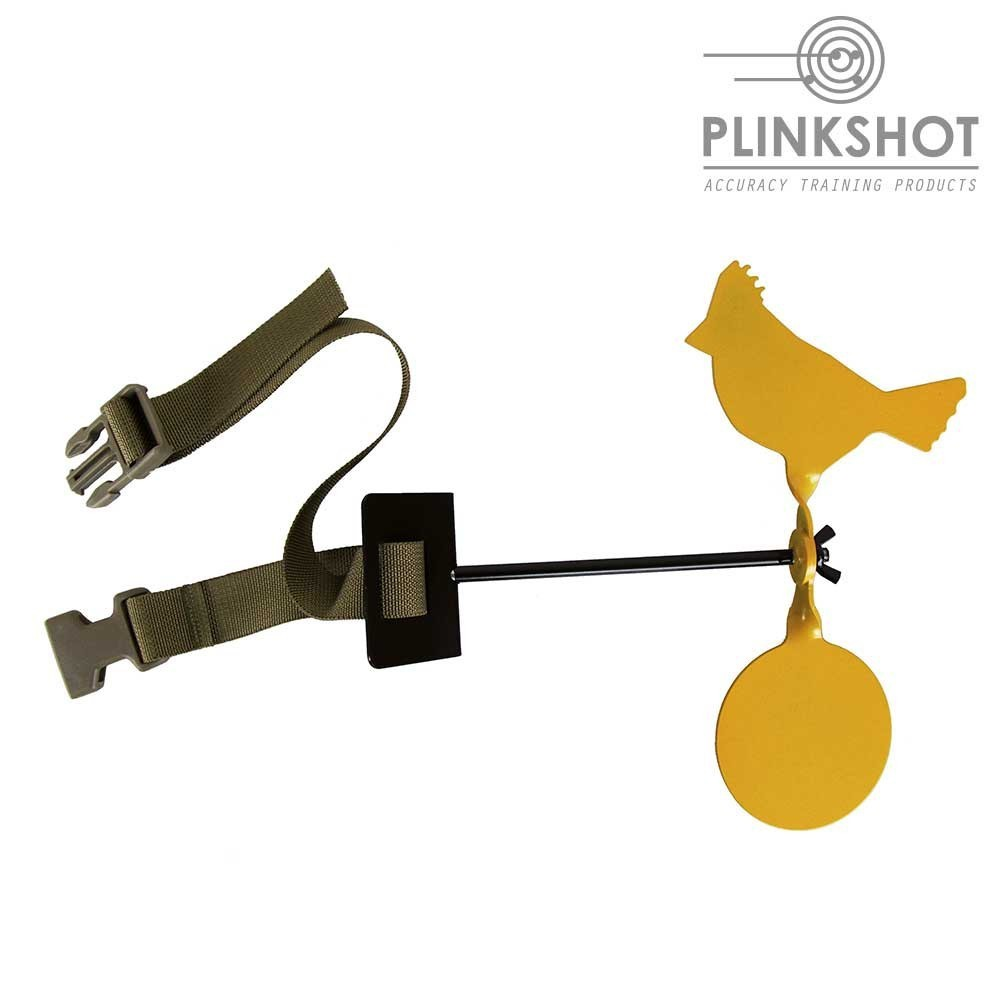 Diana rotativa con correa de sujeción Plinkshot