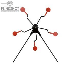 Diana giratoria ZigZag Plinkshot - 5 elementos.
