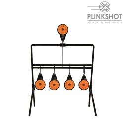 Diana rotativa easy reset Plinkshot - 5 elementos - 2,5mm