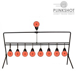 Diana rotativa easy reset Plinkshot - 9 elementos