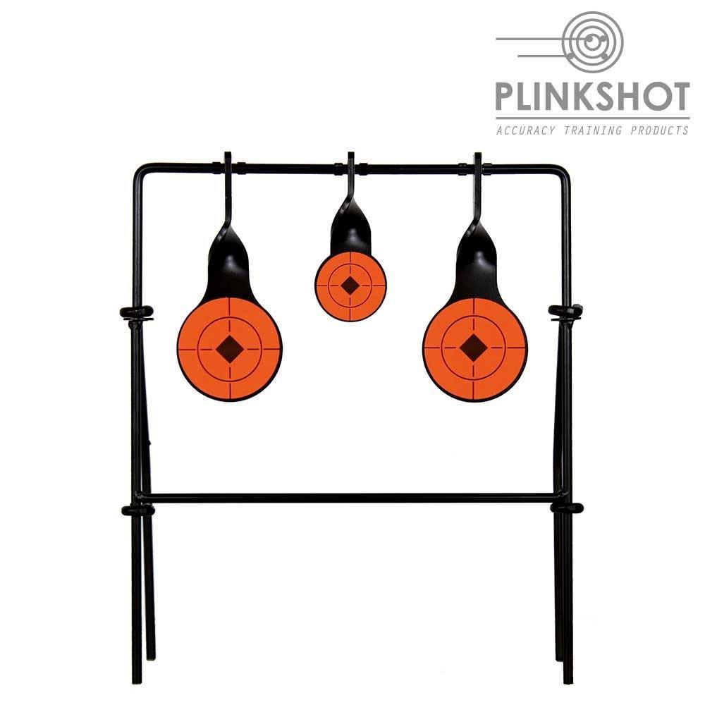 Diana 3 elementos giratorios simples Plinkshot - con soporte