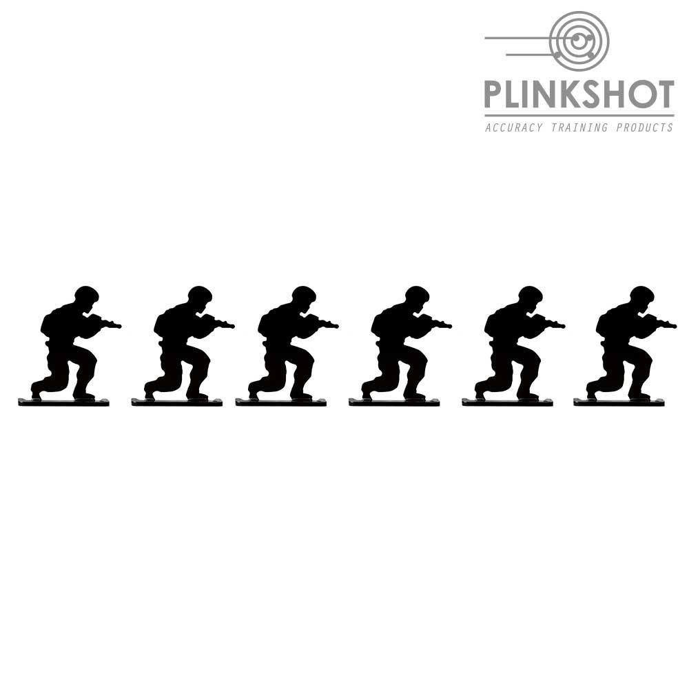 Diana silueta soldado ofensiva Plinkshot - 6 elementos