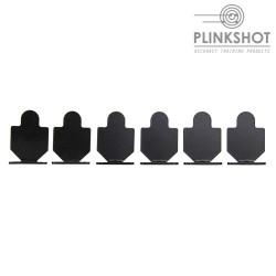 Diana silueta simple Plinkshot - 6 elementos