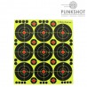 Dianas reactivas adhesiva Plinkshot - 7,6cm