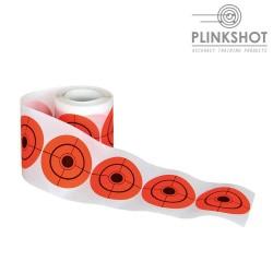 Rollo Dianas adhesivas Plinkshot - 5cm. - 250 un