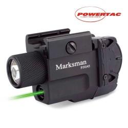 Linterna PowerTac MARKSMAN (linterna + laser)