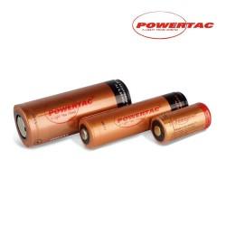 Baterías recargables para linternas Powertac