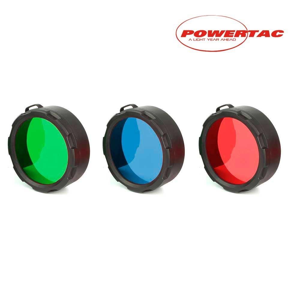 Filtros para linternas Powertac