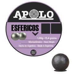 Balín APOLO Esféricos 4,5...