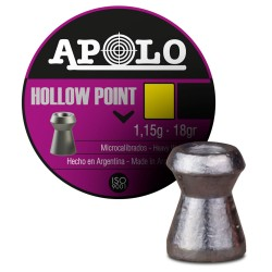 Balín APOLO Hollow Point...